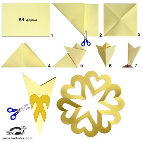 How To Make A Paper Snowflake Easy Step By Step - best 25 paper snowflakes ideas on 3d paper