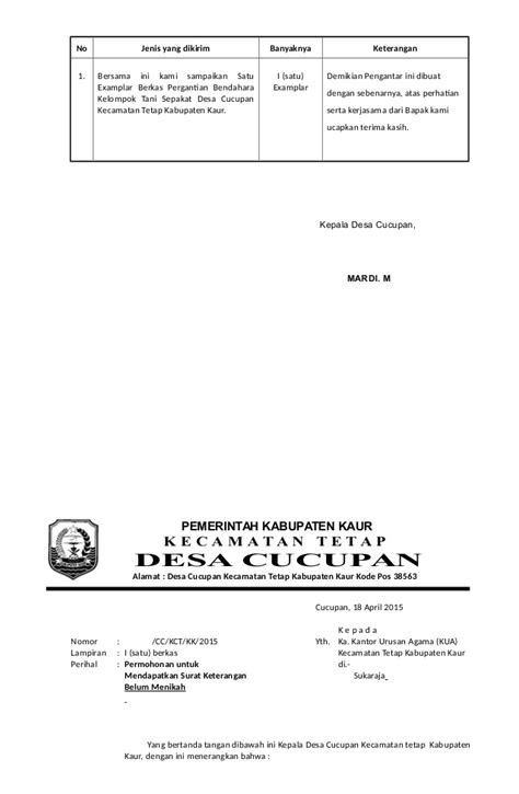 contoh surat pengantar dari kepala 28 images contoh surat pengantar
