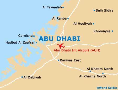 abu dhabi on world map abu dhabi maps and orientation abu dhabi united arab