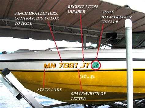 boat registration numbers location 13 best boating safety requirements images on pinterest