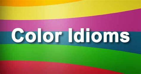 color idioms color idioms captain