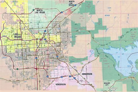 map usa las vegas map of las vegas in usa las vegas nevada is located in