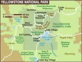 map of america yellowstone national park photographs and map of yellowstone national park in wyoming geyser faithful castle geyser