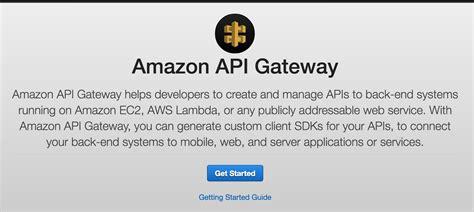 amazon api aws amazon api gatewayでapi mockサーバー 作成とgetまで