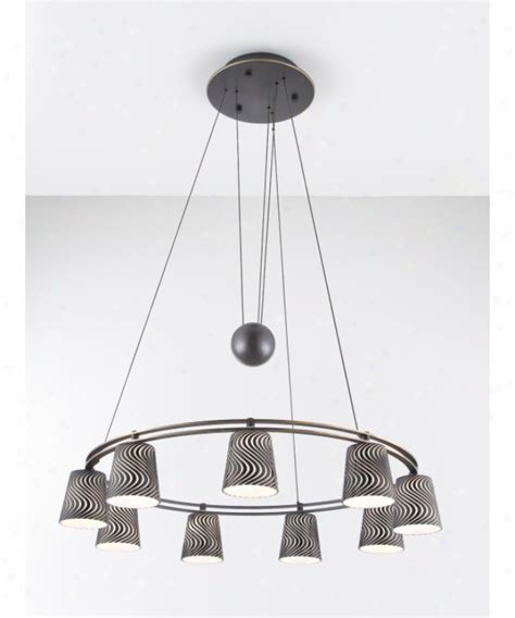 Holtkotter Chandelier Minka Lavery 4363 281 Harvard Court 4 Light Single Tier Chandelier In Harvard Ct Bronze With