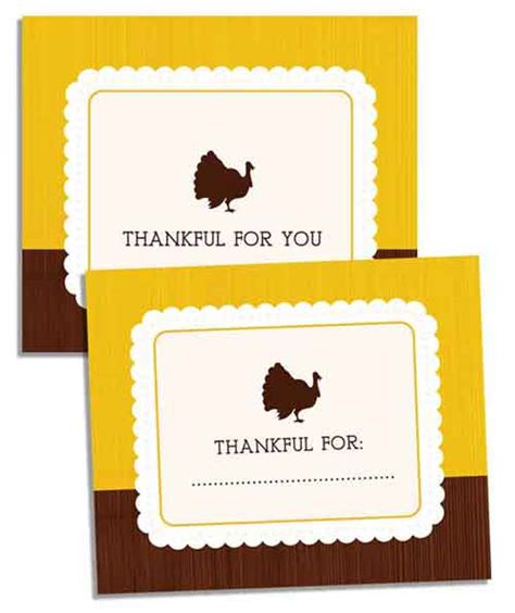 printable thanksgiving gift cards thanksgiving printables 31 free sets of fall themed designs