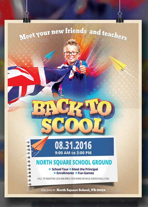 templates for school posters school poster template 8 free psd vector ai eps
