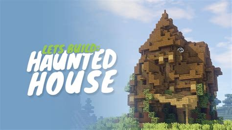 how to make a haunted house in minecraft how to build a haunted house in minecraft youtube