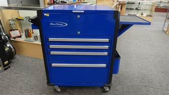 blue point 4 drawer tool cart chest of drawers