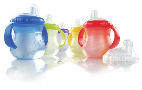 Dijamin Nuby Sippy Cup n care nuby 2 handle no spill cup sippy no spill 10 oz 2 handle box of 48 model 9644