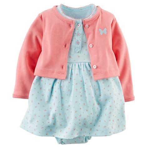 Baby Cloth Gift Set Baju Baby Gift Set Baju Baby carters newborn 3 6 9 12 months floral dress cardigan