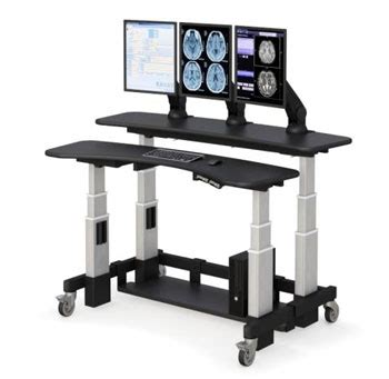 multi tiered computer desk dual tier height adjustable standing desk afcindustries com