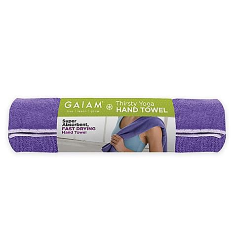 Sweat It Out With The Gaiam Organic by Gaiam Thirsty Towel