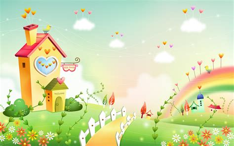 wallpaper cartoon home cartoon fantasy scenery wallpapers 19 1680x1050