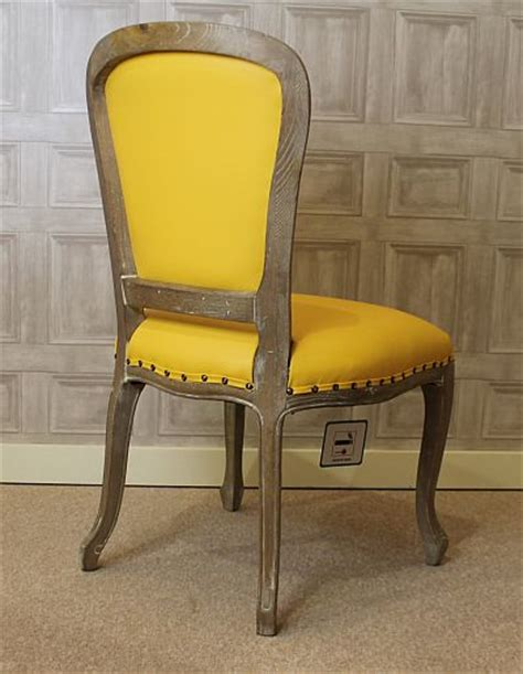 Yellow Upholstered Chair Design Ideas Original And Bright Modern Yellow Leather Dining Chairs Dining Chairs Design Ideas Dining