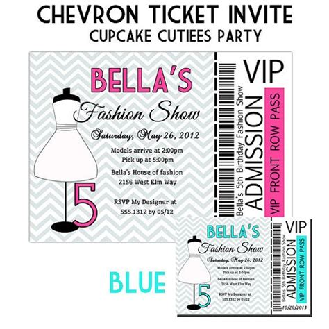 fashion show ticket template fashion show ticket template 10 best free