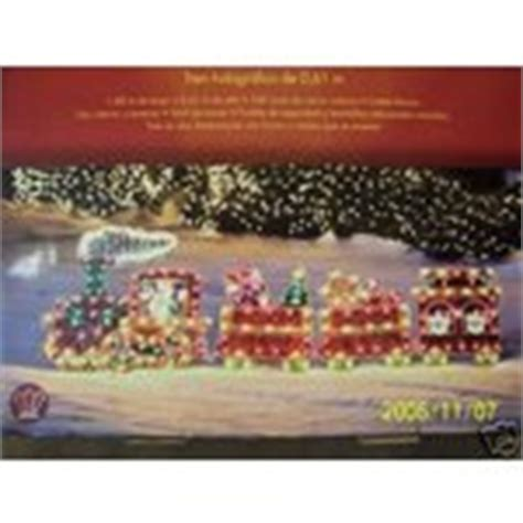 christmas outdoor halogrphic train decoration holographic lighted decoration 6 11 11 2006