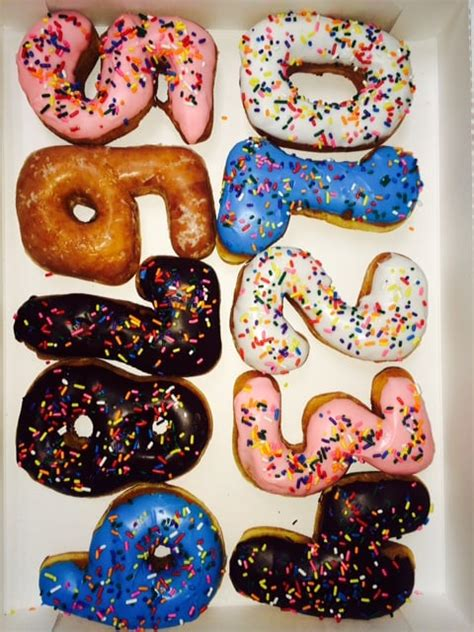 Donuts Number made to order number donuts for your next birthday yelp