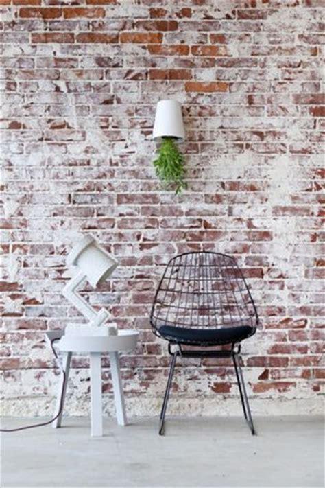 oude muur behang 25 beste idee 235 n over interieur bakstenen muren op