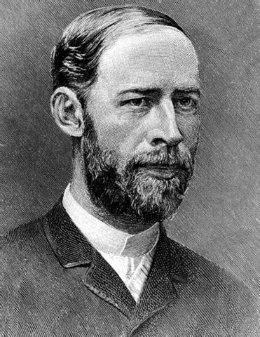 Dr. phil. Prof. Heinrich Rudolf Hertz (1857 - 1894