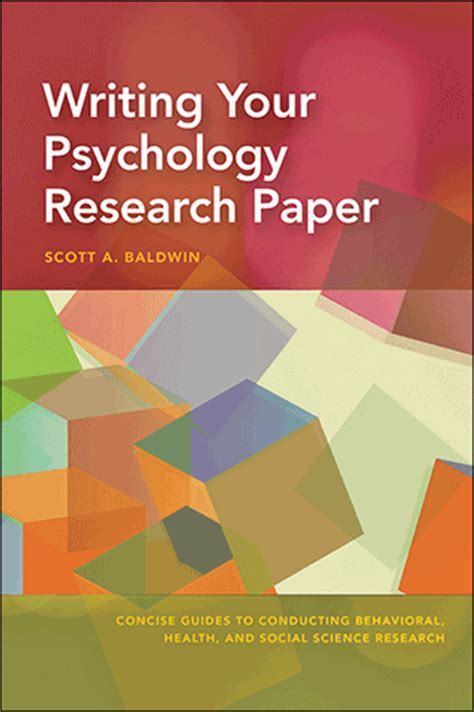 write my psychology paper writing your psychology research paper