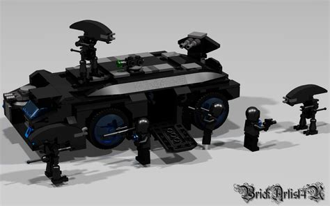 lego apc tutorial lego aliens m577 apc by brickartist4u on deviantart
