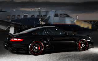 porsche 911 turbo black cars hd wallpapers