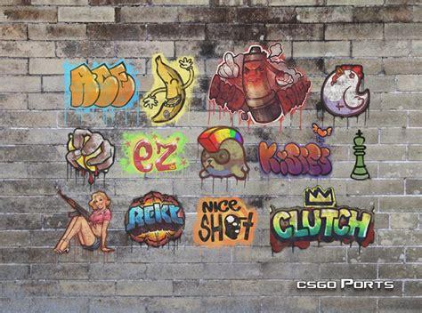 csgo graffiti batch  counter strike  sprays