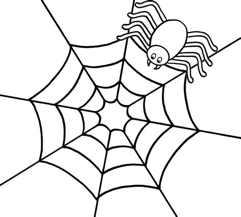 Spider Printable Coloring Pages Spider Coloring Page