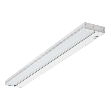 nicor led under cabinet lighting nicor nuc 30 in led white dimmable under cabinet light