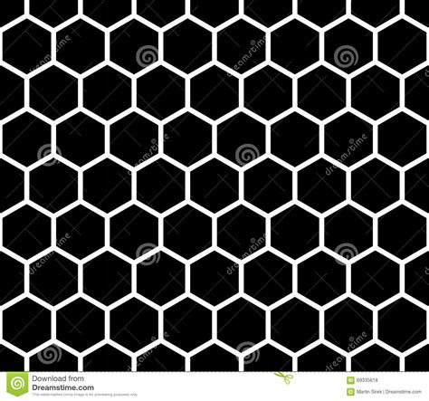 black hexagon pattern vector modern seamless geometry pattern hexagon black and