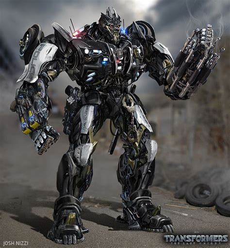 Mecha Transformer Optimus Ironhide Bumblebee Shockwave transformers the last barricade concept by