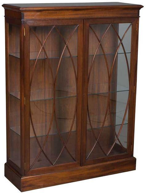 mahogany bookcase with doors antique mahogany bookcase glass doors awesome