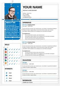 Resume Samples Editable by Bayview Clean Powerpoint Resume Template