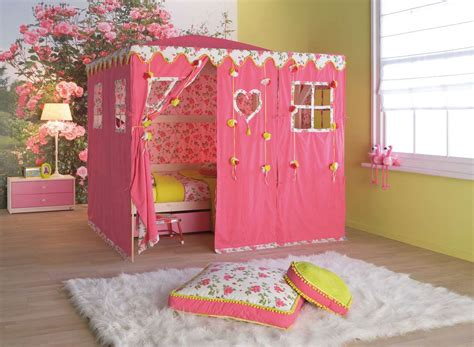 Cool Kids Bedrooms Cool Kids Room Beds With Nice Tents By Life Time Digsdigs