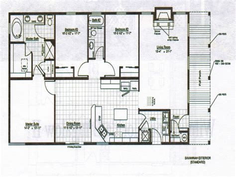Floor Plans Bungalow Style by Single Storey Bungalow House Plans Bungalow Home Design