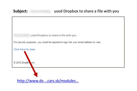 dropbox email dropbox email spam alert week of october 3 2016