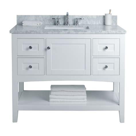 sirena floor mount  single sink vanity freestanding