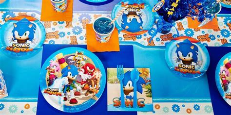 Sonic Boom Party Supplies   Kids Party Supplies
