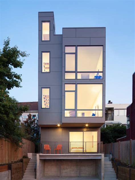 Lake Home Plans Narrow Lot 50 fachadas de casas estreitas inspiradoras