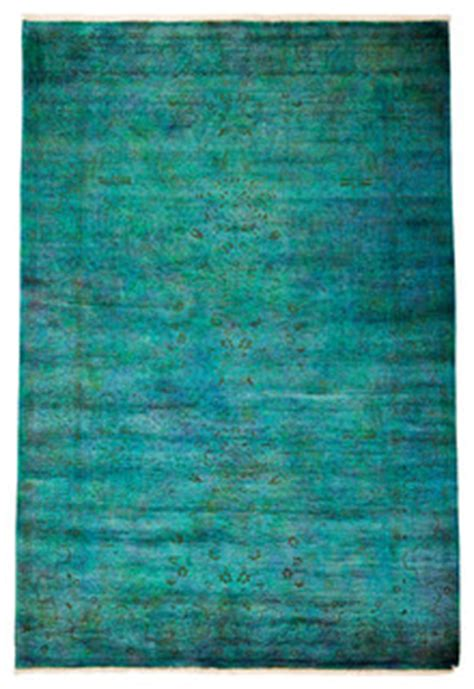 shop houzz solo rugs modern wool area rug teal  area rugs