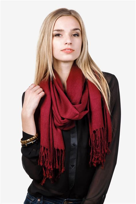 Alessa Collection Pashmina Soft Colour Beautiful Soft Pashmina Scarfs For Gifts Trends For