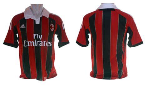 Promo Jersey Grade Ori Juventus Ac Milan Manchester Uniteddll jersey ac milan home grade ori 2012 2013 nuclos shop