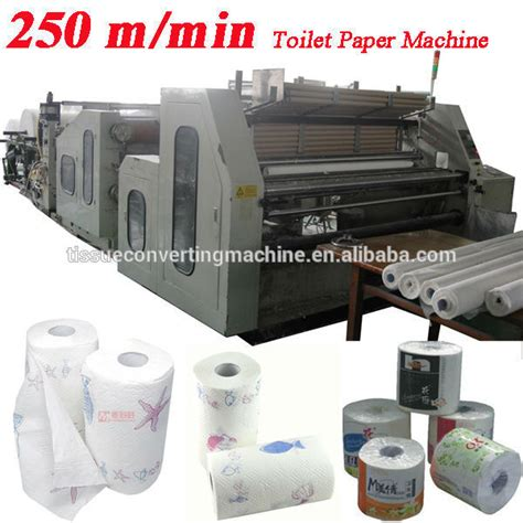 Paper Machine Cost - 250m speed laminating printing high speed automatic toilet