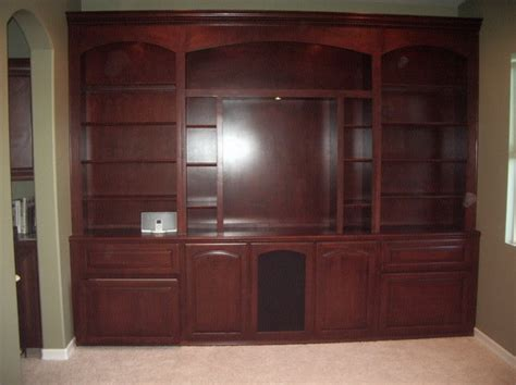 custom wall cabinet custom built in wall unit c l design specialists inc