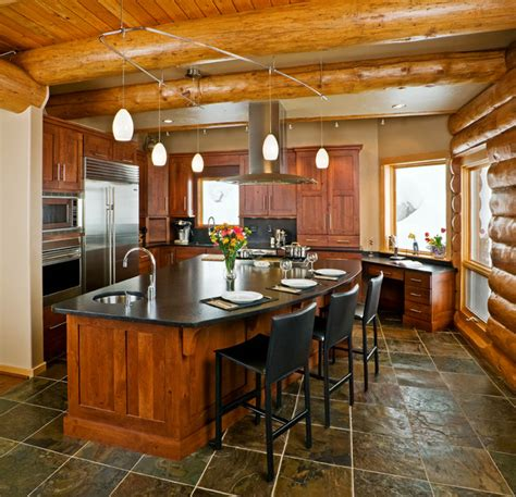 mountain home kitchen design mountain contemporary home rustic kitchen other