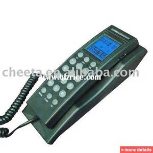 Wall phone with caller id caller id telephone china corded