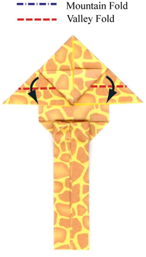 Easy Origami Giraffe - how to make an easy origami giraffe page 12