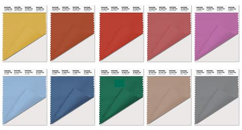 pantone palette pantone names the 10 colors expected to rule fall