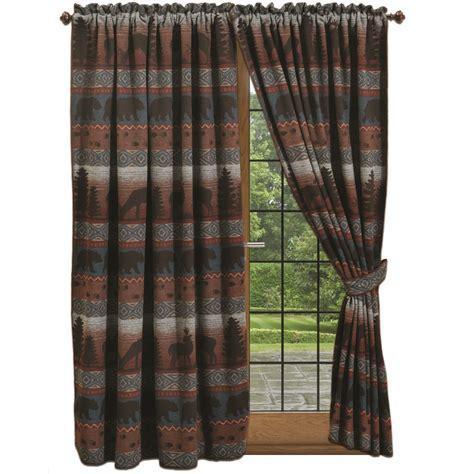 deer drapes deer meadow drapes tie backs